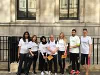 Leading North London lawyers put their best feet forward as they raise hundreds for charity