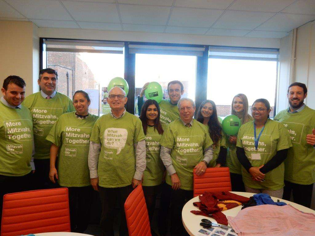 Local residents to benefit from lawyers' Mitzvah Day collection