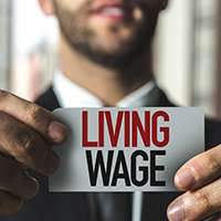 Real Living Wage to rise to £9 an hour