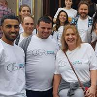 We raise hundreds of pounds at the London Legal Walk