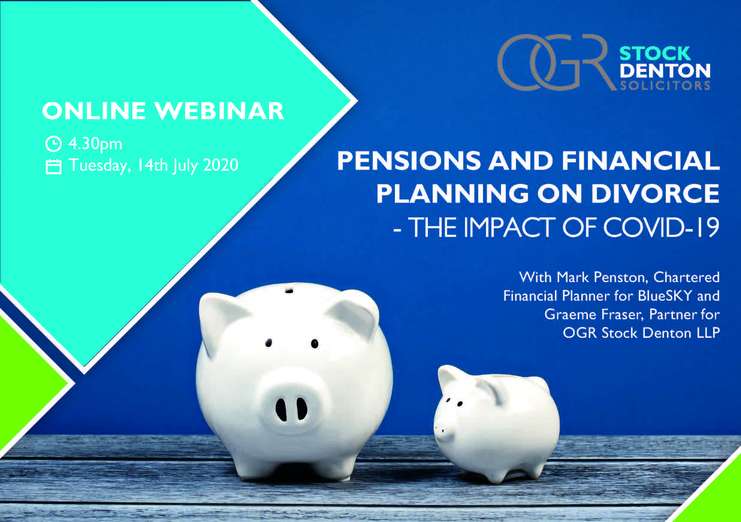 Pensions and financial planning on divorce – the impact of COVID-19