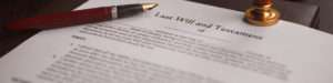 what is the process of contentious probate